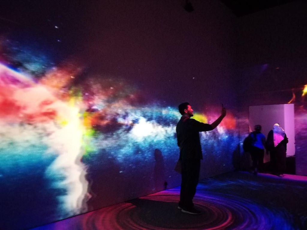 Pameran Seni Digital Imagispace Ditutup hingga Akhir Maret
