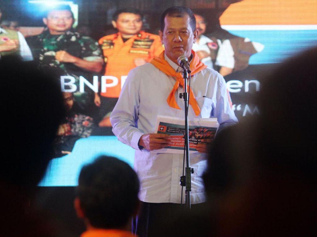 Aksi Kepala BNPB di Malam Sahabat Wanadri