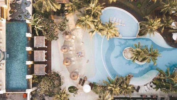 Bermalam di Tengah Pesona Mediterania Bali