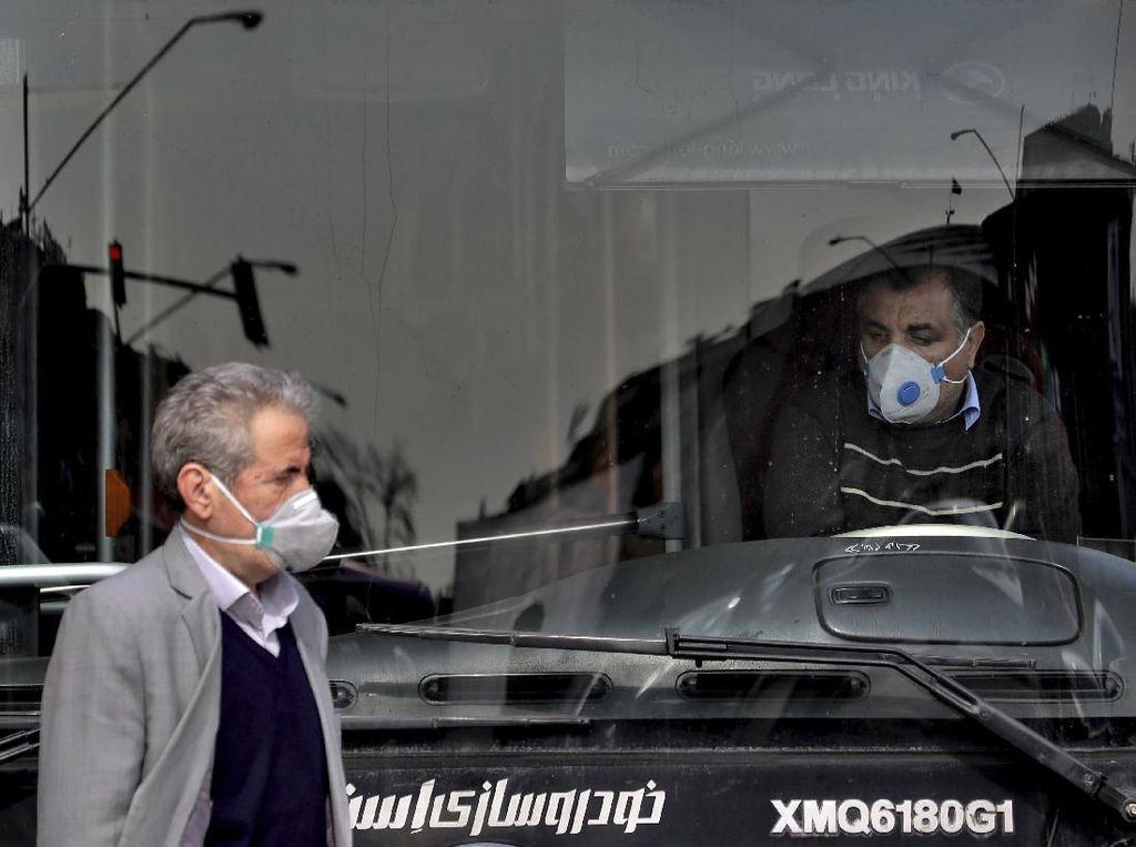 2 Ribu Orang Meninggal karena Virus Corona, Iran Larang Warga Keluar Kota