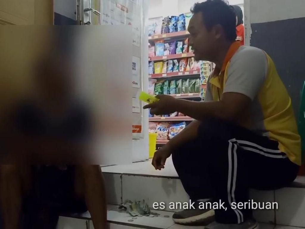 Cerita Haru di Balik Kisah Bapak Penjual Es Nekat Curi Sekotak Susu Bayi