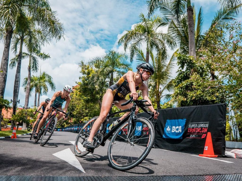 Virus Corona Bikin Super League Triathlon Bali 2020 Ditunda