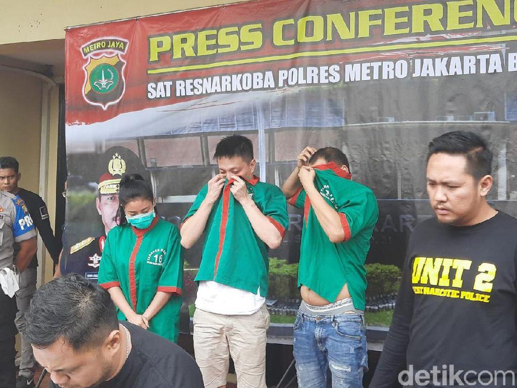 Polisi Tangkap RA, Pemasok Narkoba ke Artis Vitalia Sesha