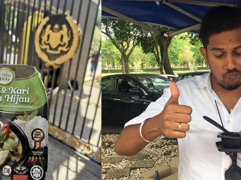 Wow! Wartawan di Malaysia Dapat Banyak Makanan Gratis Saat Liput Berita di Istana