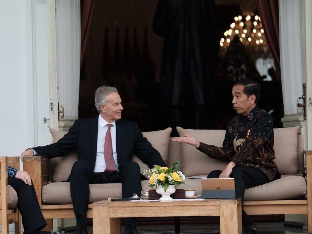 Bertemu Jokowi, Tony Blair: Saya Diminta Bawa Orang Terbaik ke Sini