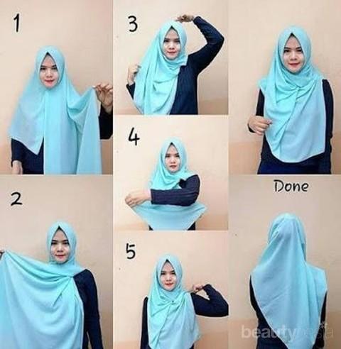 Anti Ribet 5 Tutorial Hijab Wisuda Ini Bisa Kamu Coba Sendiri Di Rumah