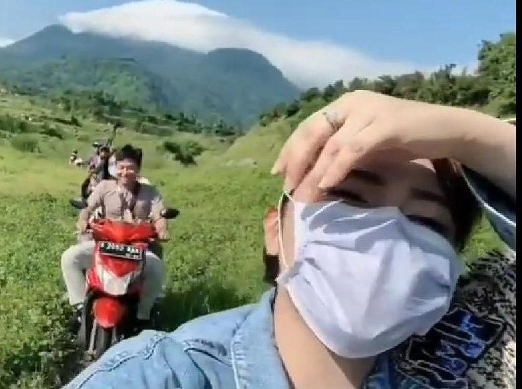 Via Vallen Sebut Ranu Manduro di Mojokerto Bisa Jadi Wisata Keren