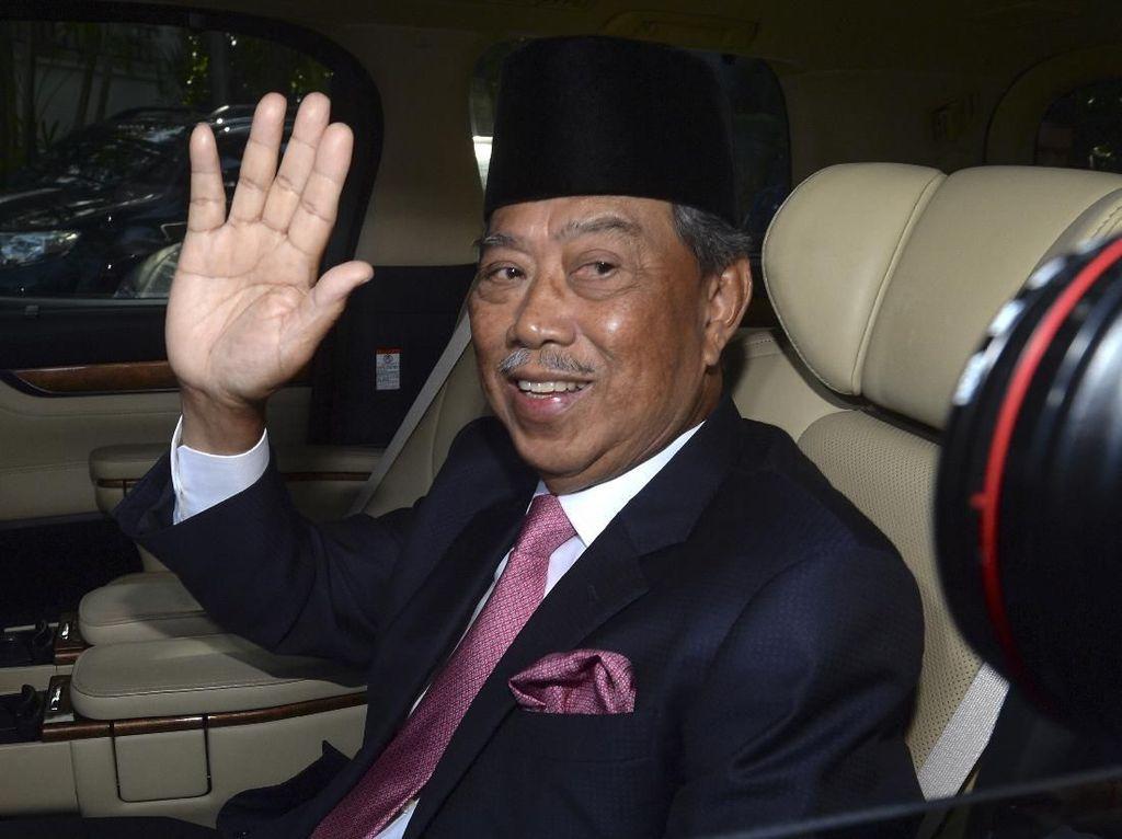 Raja Resmi Angkat Muhyiddin Yassin Jadi PM Malaysia