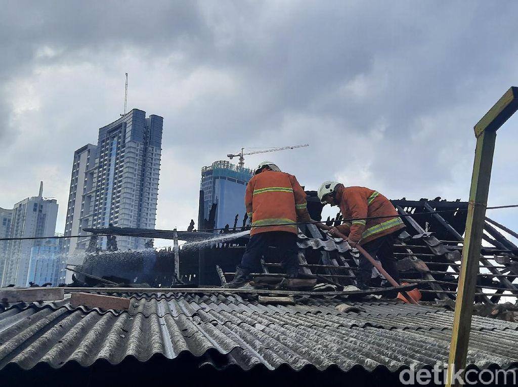 Asrama Korem di Surabaya Terbakar, Anggota Babinminvet: Tak Ada Sisa Baju