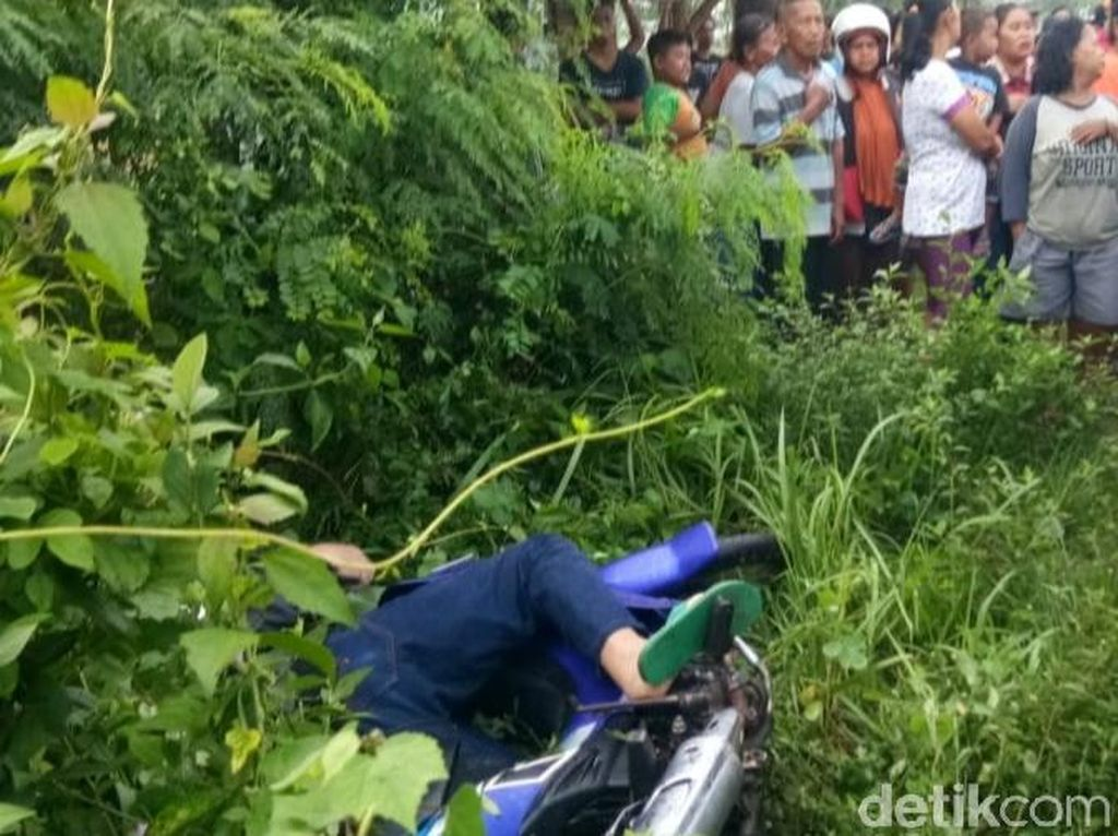 Penjual Mi Ayam Klaten Ditemukan Tewas Tergeletak di Atas Motor