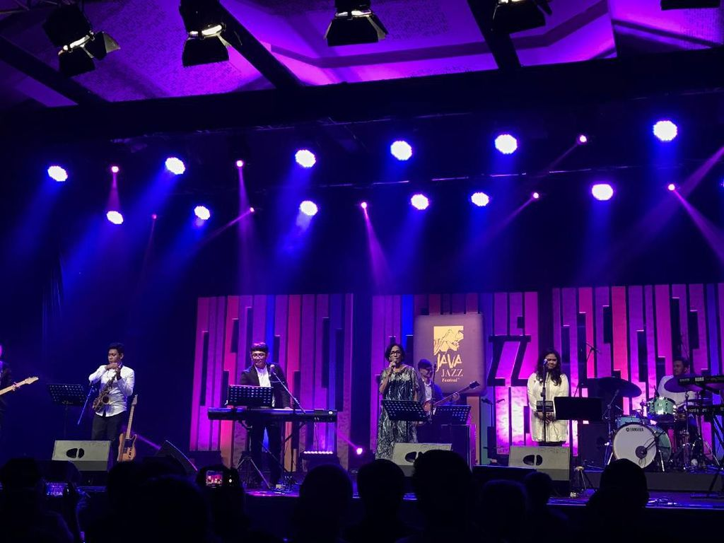 Mus Mujiono Sempat Pakai Masker di BNI Java Jazz Festival 2020