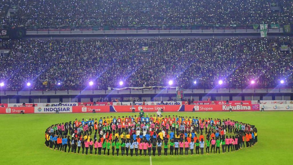 Intip Kemeriahan Pembukaan Liga 1 2020 di Gelora Bung Tomo
