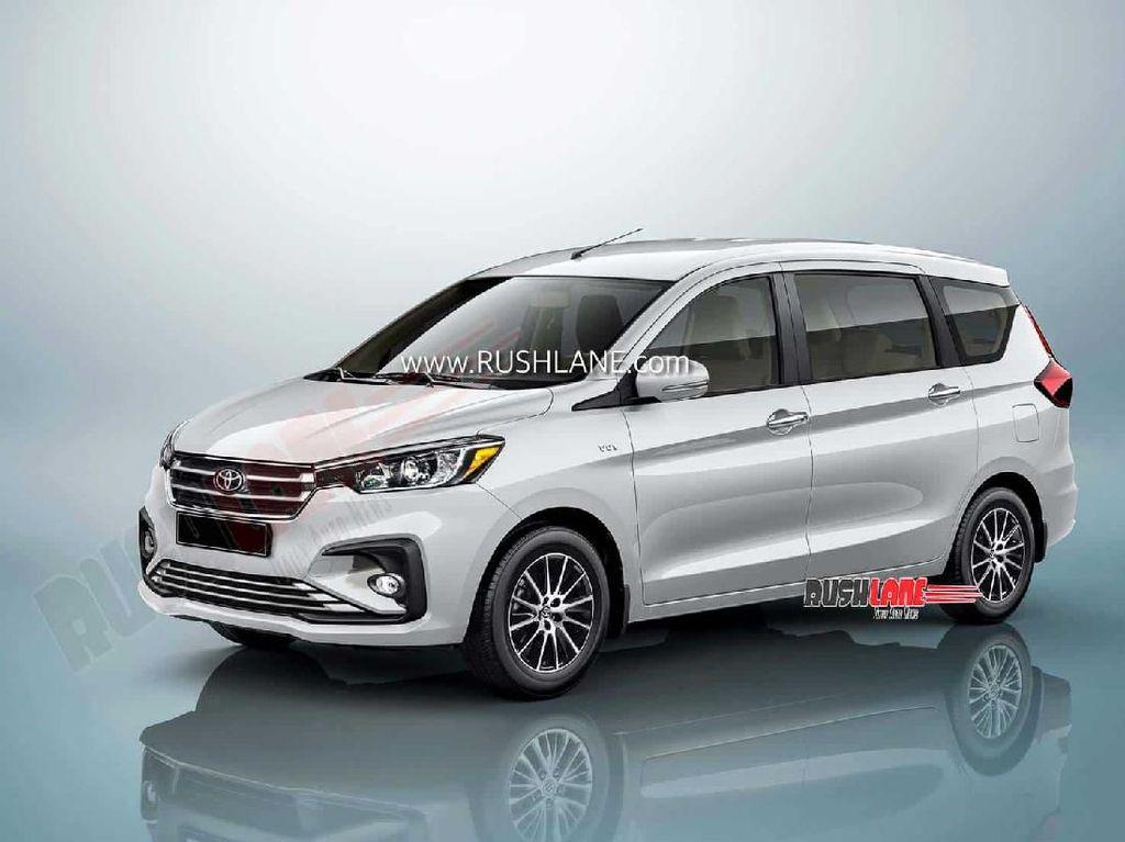 Ertiga Berlogo Toyota Siap Meluncur Tahun Depan
