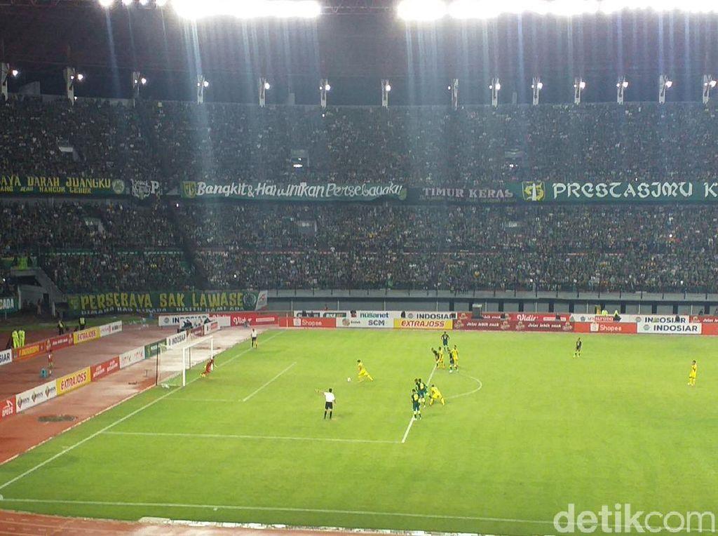Shopee Liga 1 Resmi Dibuka, Persebaya Vs Persik Sementara 1-1