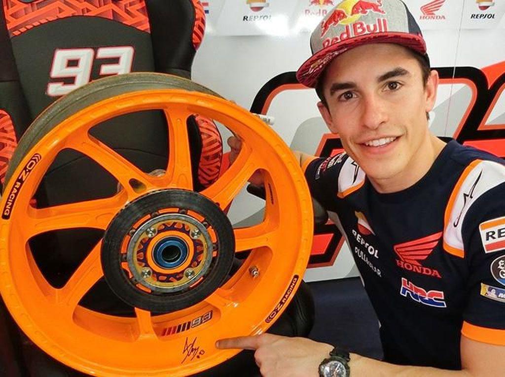 Siapa Mau? Pelek Bekas Motor MotoGP Marquez Dijual Nih