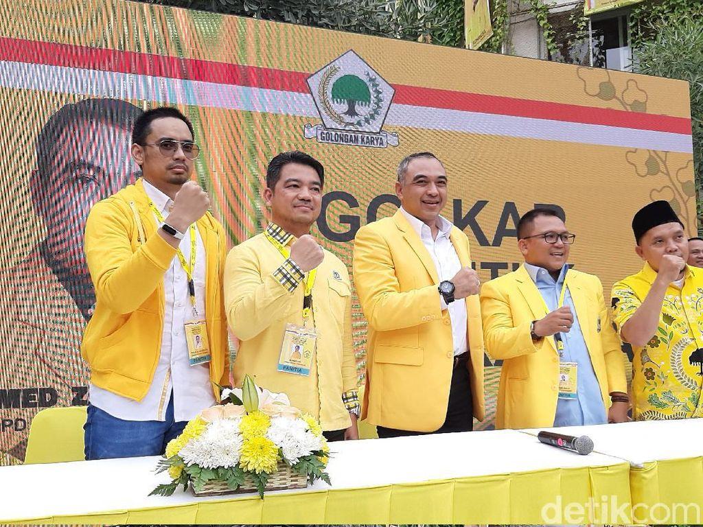 Bupati Tangerang Ahmed Zaki Iskandar Terpilih Jadi Ketua Golkar DKI