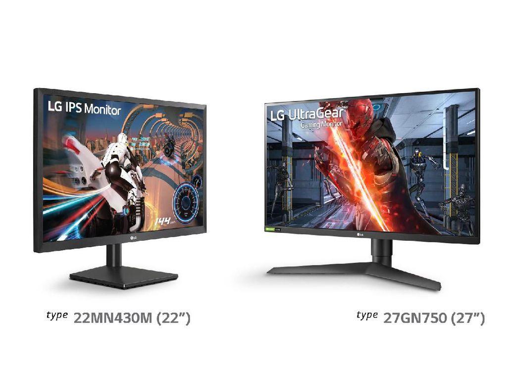 LG Boyong Dua Monitor Gaming ke Indonesia