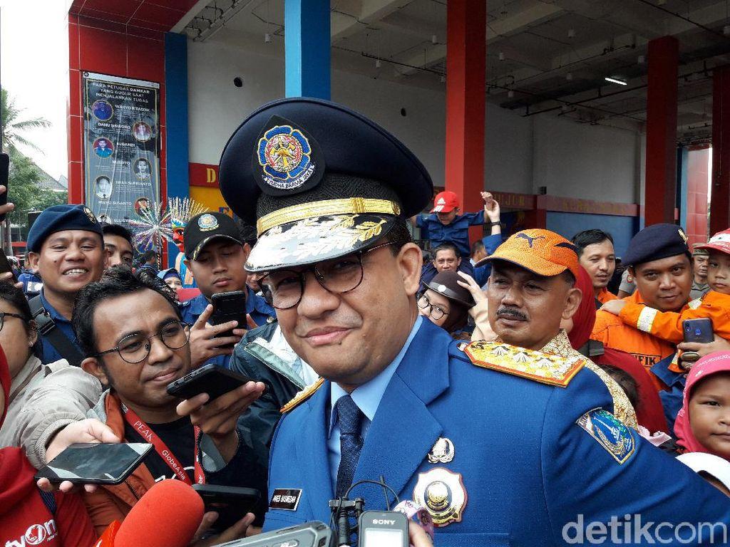 Anies Ungkap Masalah Klasik Kebakaran di DKI Jakarta