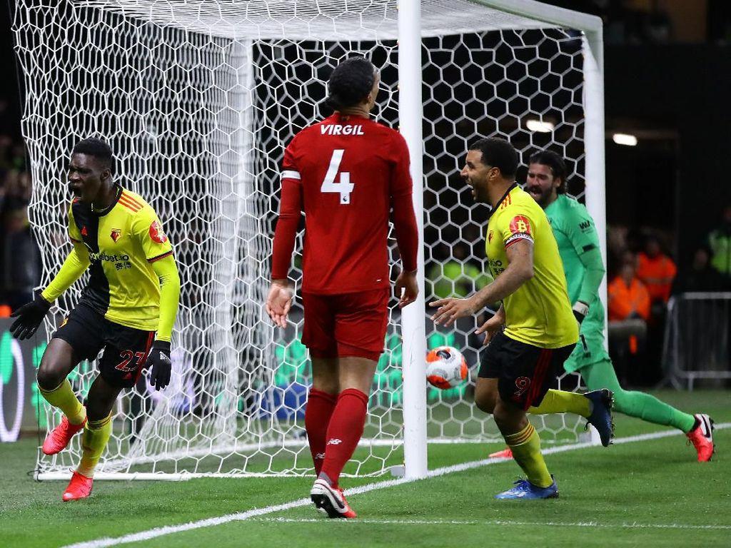 Watford vs Liverpool: The Reds Kalah Memalukan 0-3