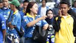 Antusias Bobotoh Birukan Stadion Si Jalak Harupat Bandung