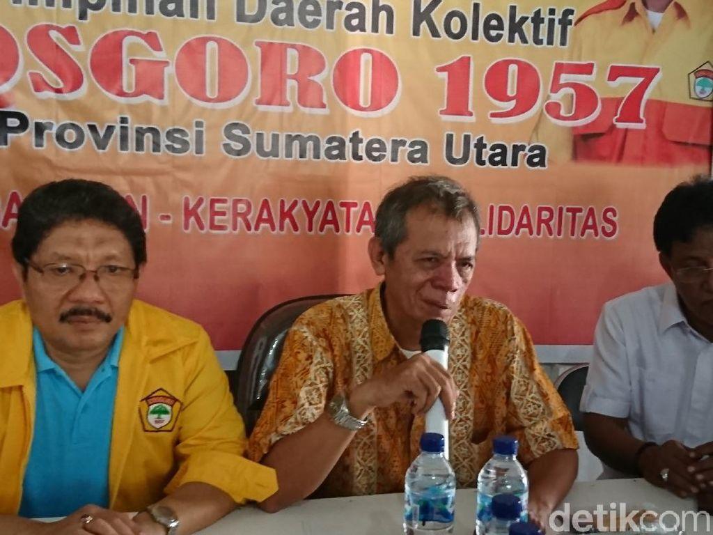 Kosgoro Sumut Anggap Musda Golkar yang Sudah Pilih Ketua Baru Tak Sah