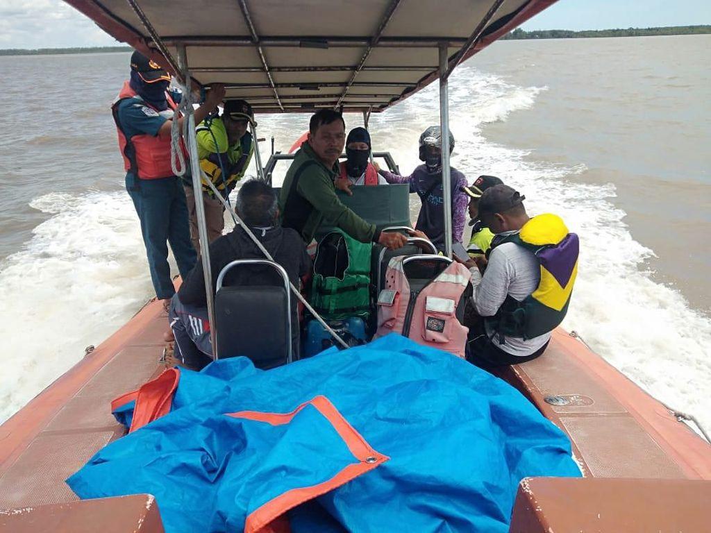 Kemenhub Evakuasi Korban Speed Boat Karam di Laut Kalimantan Utara