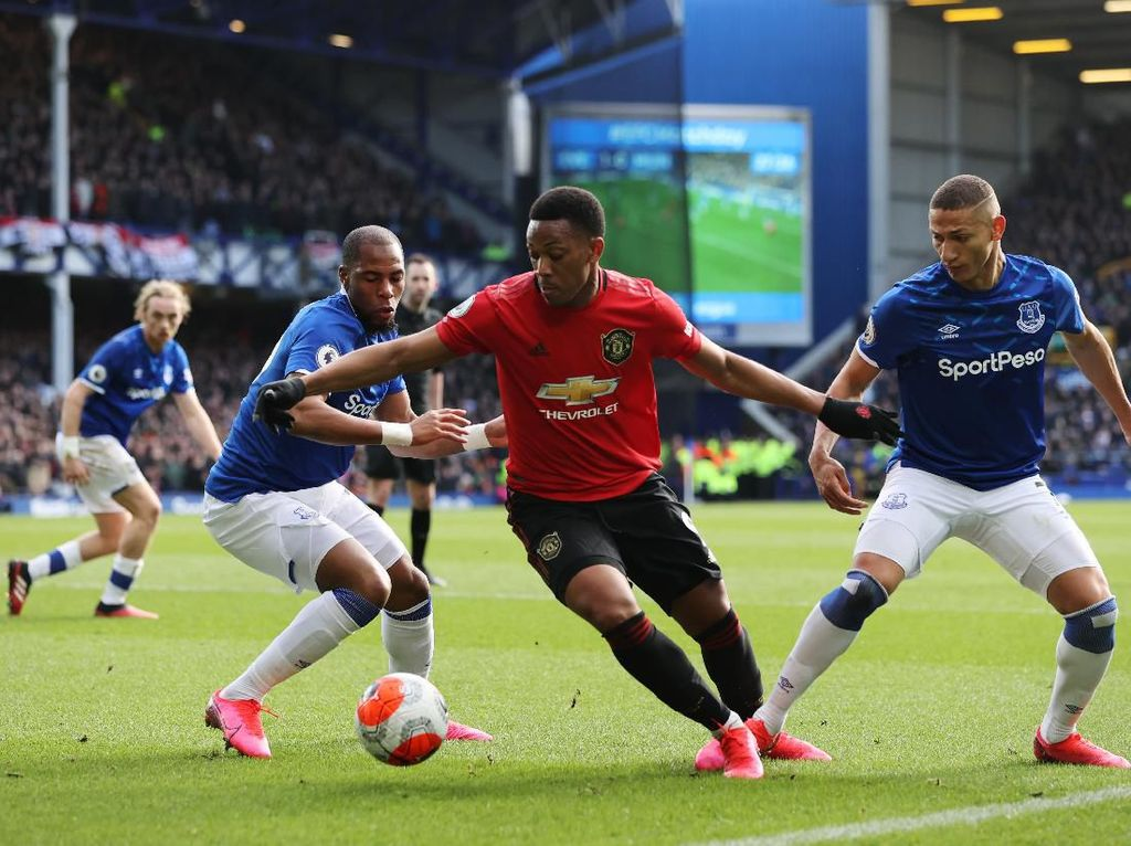 7 Data-Fakta Everton Vs MU di Piala Liga Inggris