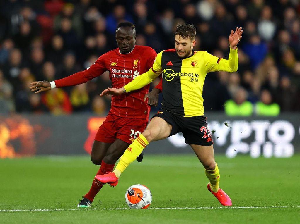 Liverpool Masih Tanpa Gol Melawan Watford di Babak Pertama
