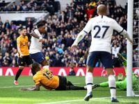Tottenham Vs Wolverhampton: Spurs Memimpin 2-1 di Babak I