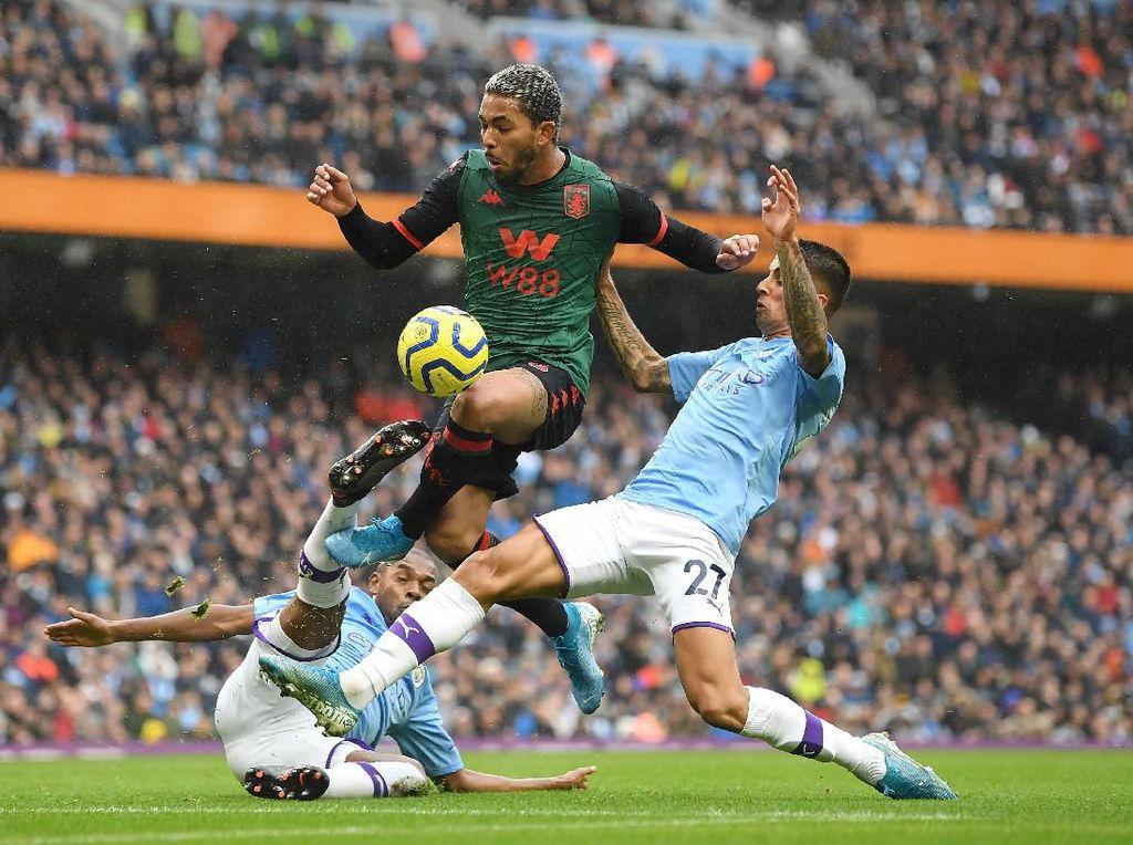 Link Live Streaming Aston Villa vs Manchester City