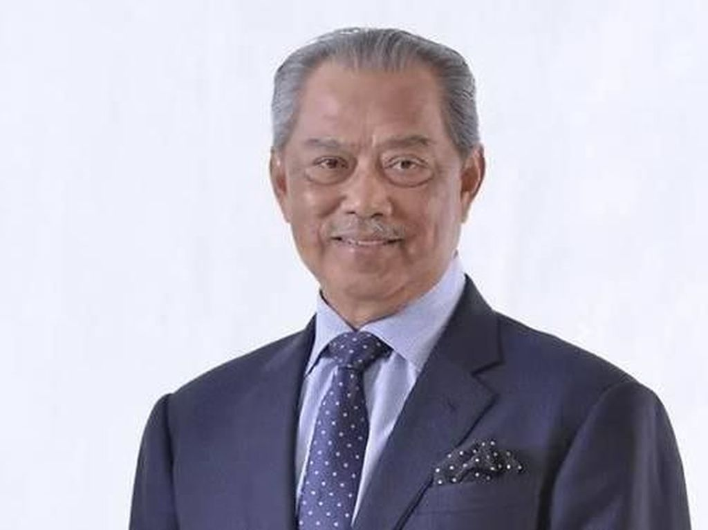 Resmi Diangkat Jadi PM Malaysia, Ini Profil Muhyiddin