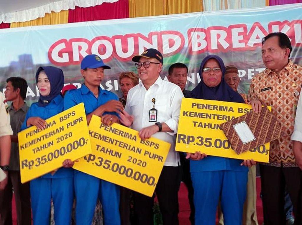 223 Rumah Dibangun untuk Pasukan Kebersihan di Prabumulih