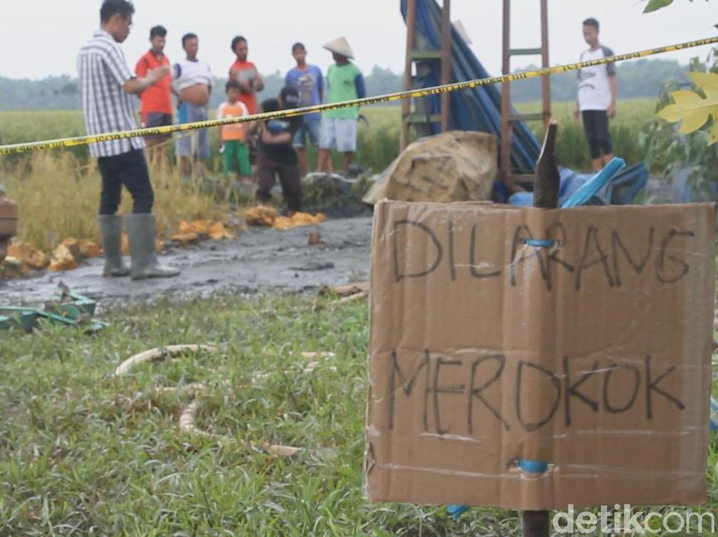 Lubang Bekas Semburan Lumpur di Grobogan Direkomendasikan Ditutup