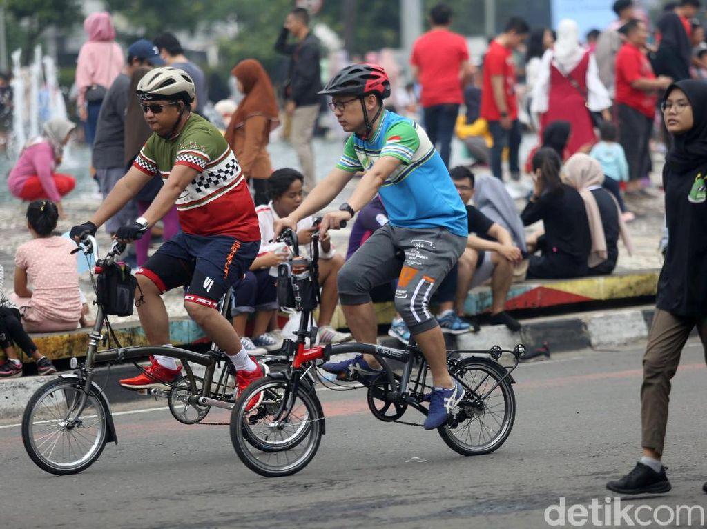 Sepeda Lipat Diskon Rp 400 Ribu di Transmart, Siapa Mau Gowes?