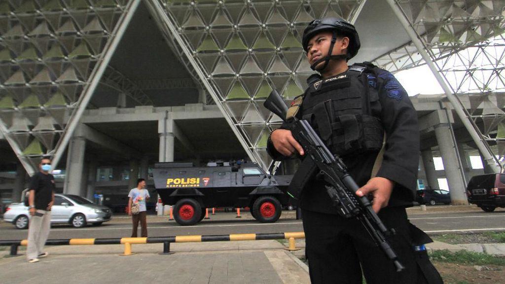 Pengamanan di Bandara Kertajati Jelang Kedatangan WNI ABK Diamond Princess