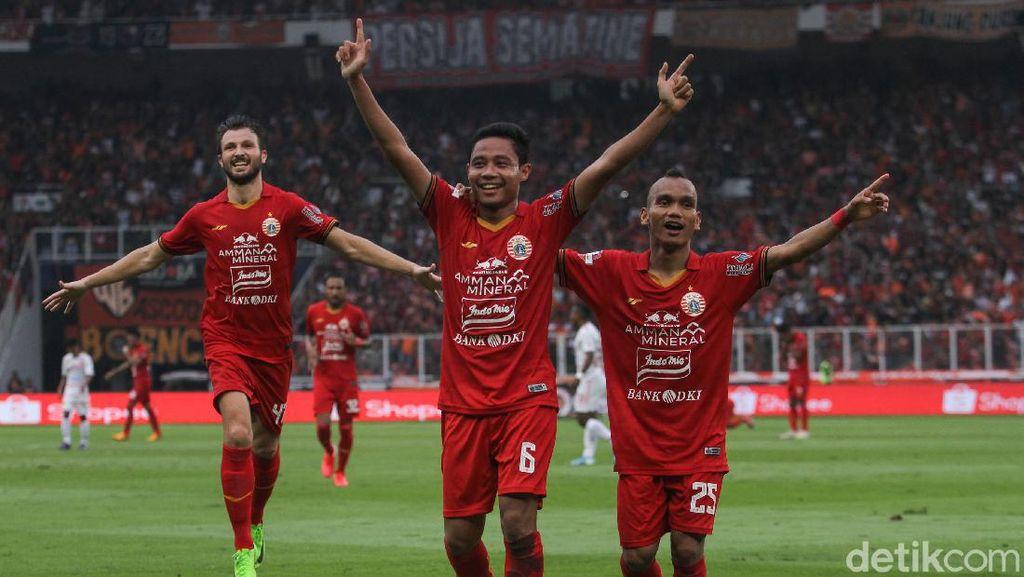 Persija Jakarta Gilas Borneo FC 3-2