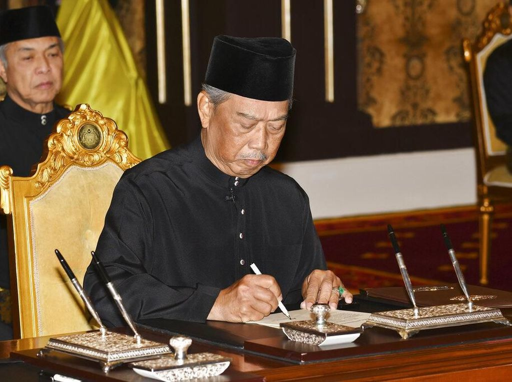 PM Malaysia Muhyiddin: Terima Kasih Allah SWT dan Yang di-Pertuan Agong