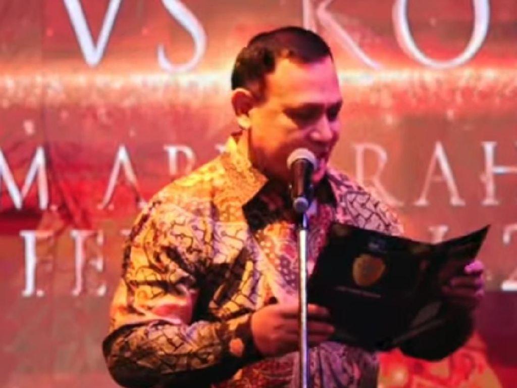 Sindiran Ketua KPK pada Koruptor Lewat Sepenggal Puisi