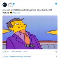Liverpool Digasak Watford Diserbu Meme Foto 10