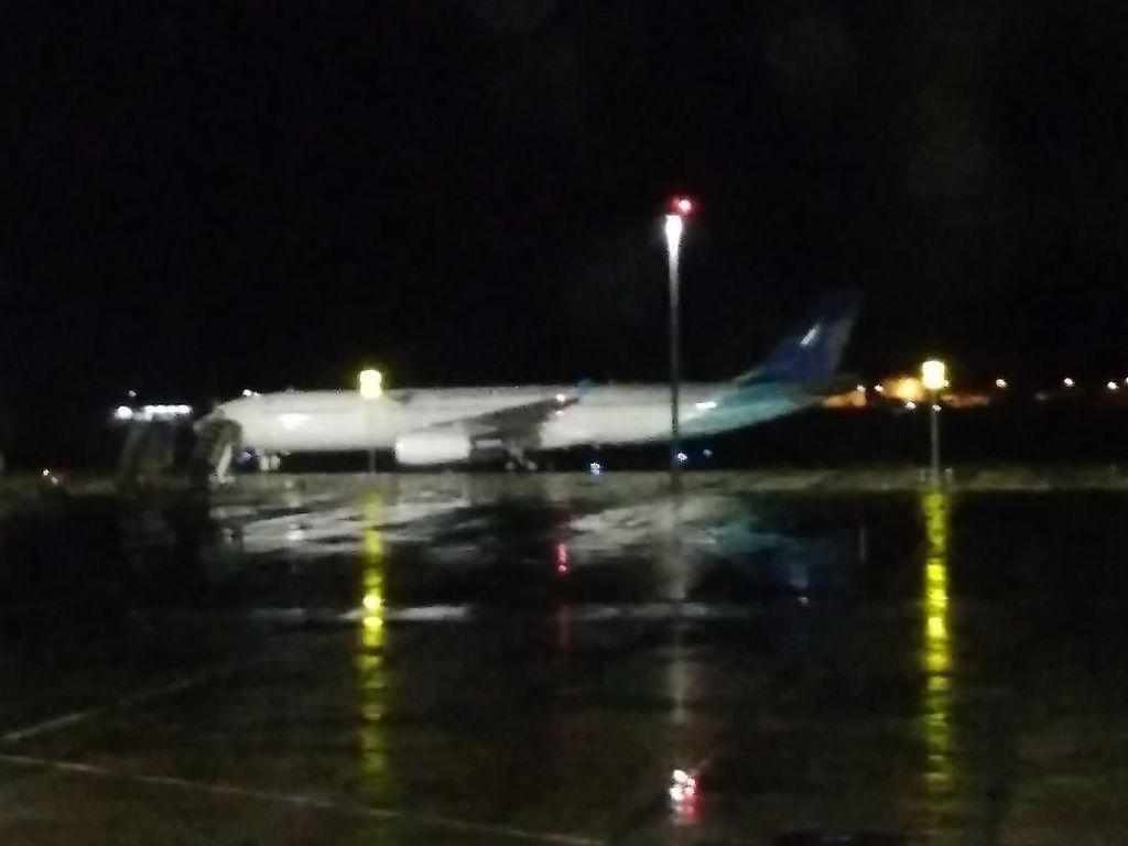 Tim KKP Bandung Sterilisasi Pesawat Pengangkut 69 ABK Diamond Princess