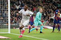 Vinicius menjadi bintang kemenangan Real Madrid atas Barcelona