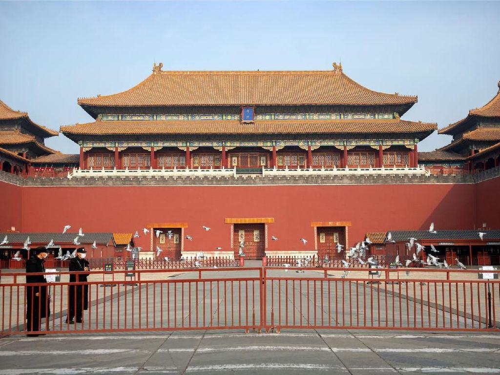 Wajah Destinasi Ikonik China Setelah Virus Corona Merebak