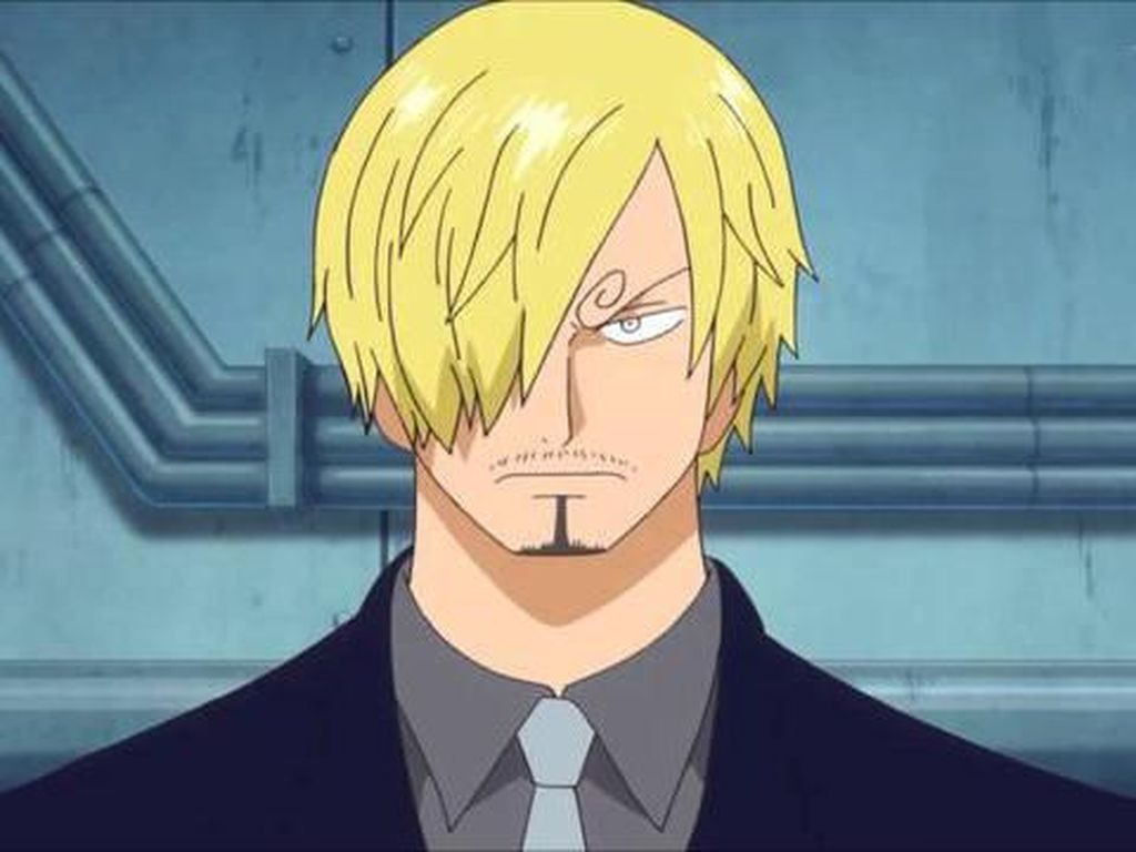 Lebih Gahar! Ini Bocoran Gambar Sanji One Piece saat Usia 40 dan 60 Tahun