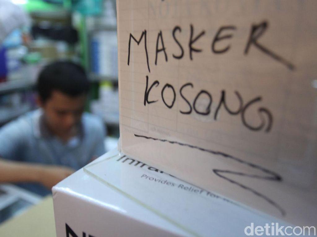 Pasar Jaya Akan Batasi Pembelian Masker dan Hand Sanitizer