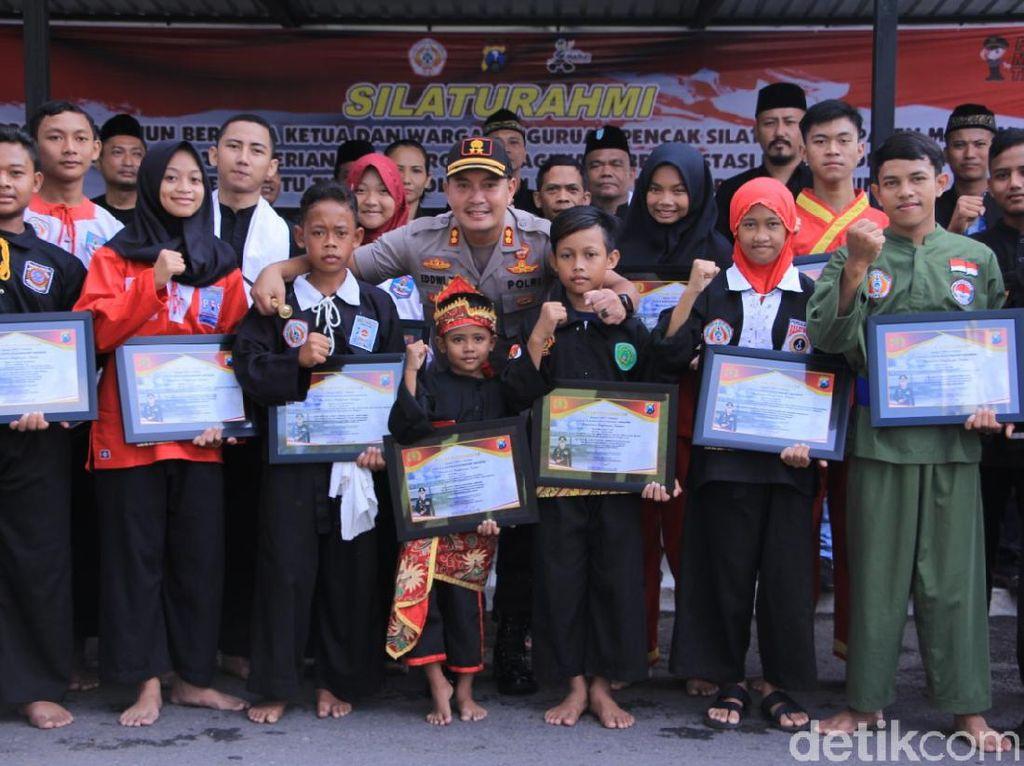 Berprestasi dan Jaga Kondusivitas, 26 Pesilat Madiun Raih Penghargaan