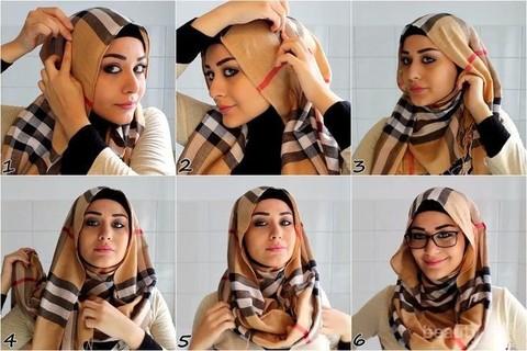 Inspirasi Gaya Hijab Sehari Hari Untuk Wajah Oval