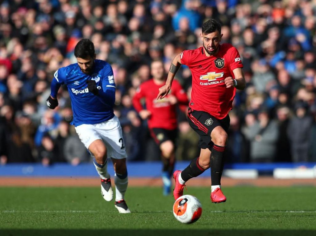 Link Live Streaming Everton Vs MU