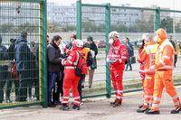 Ada pemeriksaan ketat di stadion sepakbola di Italia, sebelum akhrinya Liga Italia ditangguhkan