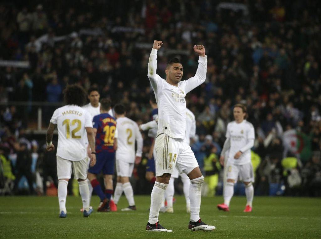 Respons Positif Real Madrid di Pekan yang Rumit