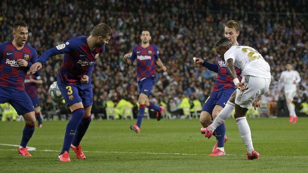 Liga-liga Eropa seperti Liga Spanyol menghentikan kompetisi karena virus corona.